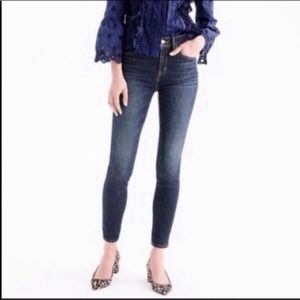 J. Crew high waisted ankle skinny jeans 26